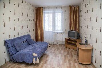 1-комн. квартира, 40 кв.м. на 3 человека, улица Молокова, 12, Советский район, Красноярск - Фотография 1
