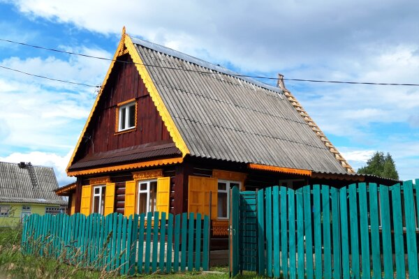 Дом для отпуска , 90 кв.м. на 4 человека, 1 спальня
