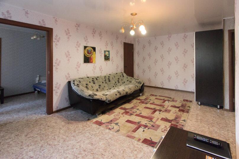 2-комн. квартира, 50 кв.м. на 4 человека, улица Мичурина, 4, Красноярск - Фотография 2