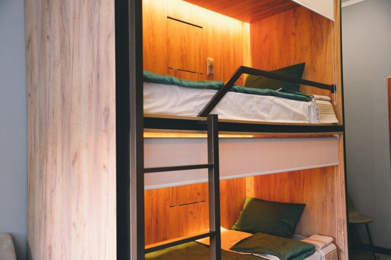 Кровать в общем 6-местном номере для мужчин и женщин, улица Островитянова, 9к3, Москва - Фотография 1