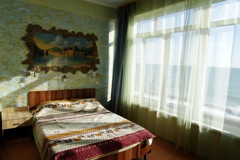 Полулюкс с видом на море 1, Ольховая улица, эллинг 70, село Волконка, Сочи - Фотография 1