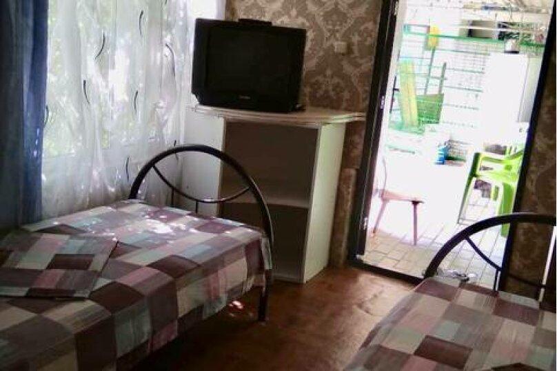 3 местный эконом с кондиционером, Черноморская улица, 2А, Джубга - Фотография 1