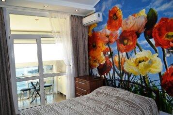 Номер № 49  ( 8 этаж)  с видом на море и горы:  Квартира, 3-местный, 1-комнатный, Номера в  комплексе, Севастопольская зона ЮБК, 27В на 6 номеров - Фотография 3