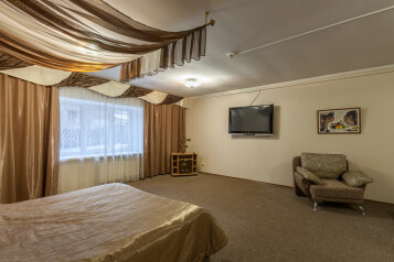 Делюкс:  Номер, Апартаменты, 4-местный (2 основных + 2 доп), 1-комнатный, Мини-отель, Свердловская улица, 245 на 12 номеров - Фотография 3