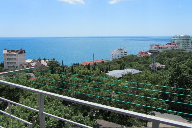 панорамный 1 комнатный 4 местный с балконом 3 этаж, Маратовская , 19-а, Мисхор - Фотография 1