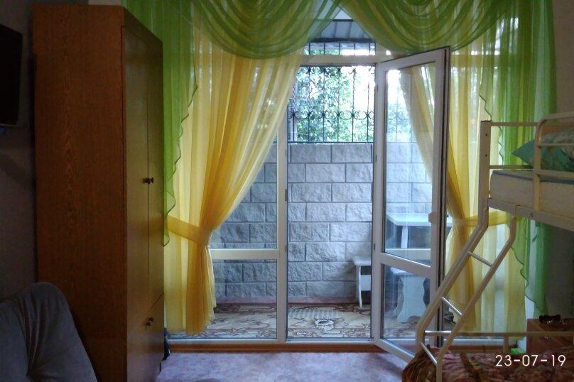 1-комн. квартира, 22 кв.м. на 4 человека, Красномаякская улица, 18Е, Симеиз - Фотография 6