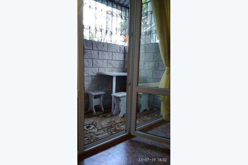 1-комн. квартира, 22 кв.м. на 4 человека, Красномаякская улица, 18Е, Симеиз - Фотография 7