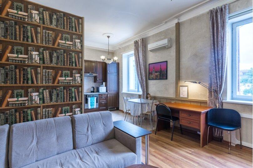 2-комн. квартира, 60 кв.м. на 4 человека, Богословский переулок, 3, Москва - Фотография 1