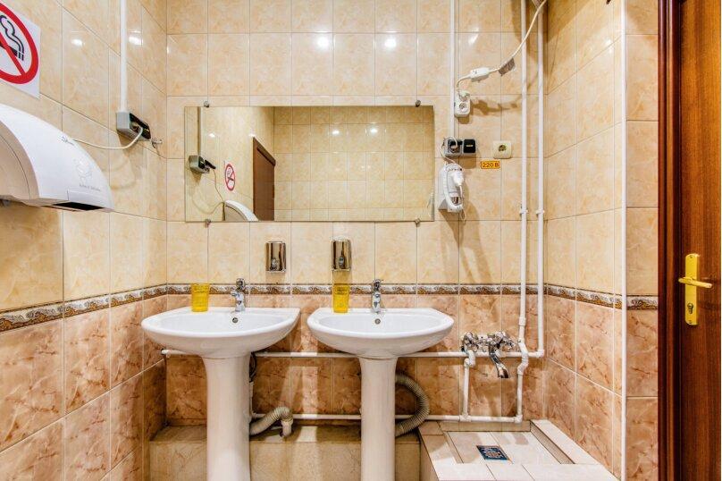 Семейный четырехместный номер. Общая ванная комната, Новая Басманная улица, 13/2с1, метро Красные Ворота, Москва - Фотография 13