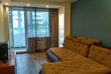 1-комн. квартира, 39 кв.м. на 4 человека, Лососинское шоссе, 33к3, Петрозаводск - Фотография 1