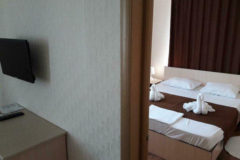 Апартаменты с 2 спальнями, улица Свободы, 30, Гостагаевская, Анапа - Фотография 13