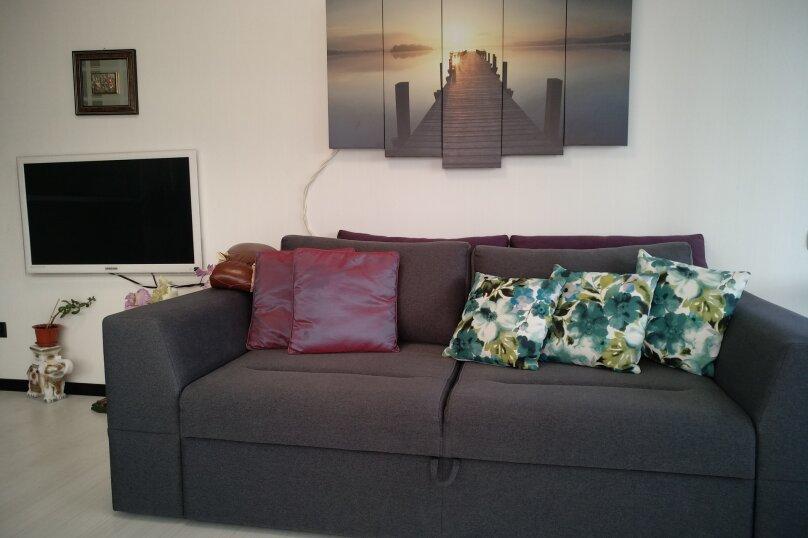 2-комн. квартира, 55 кв.м. на 5 человек, Прибрежная улица, 7, Партенит - Фотография 6