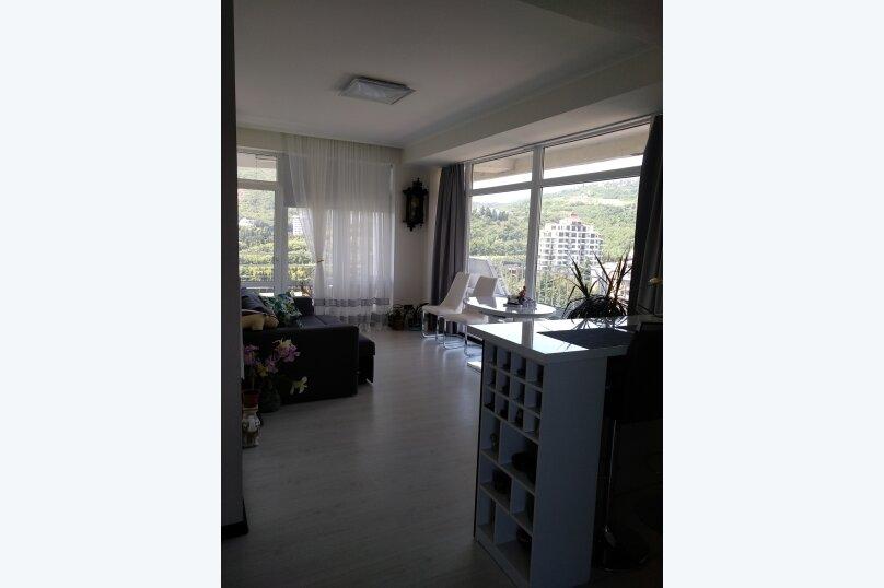 2-комн. квартира, 55 кв.м. на 5 человек, Прибрежная улица, 7, Партенит - Фотография 13