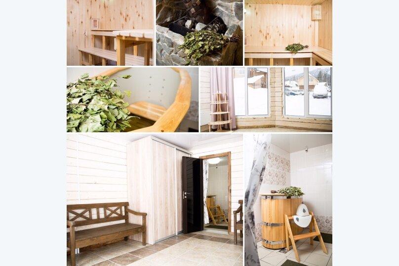 Уютный домик, 48 кв.м. на 8 человек, 3 спальни, Вторая Дачная улица, 629, Шерегеш - Фотография 14
