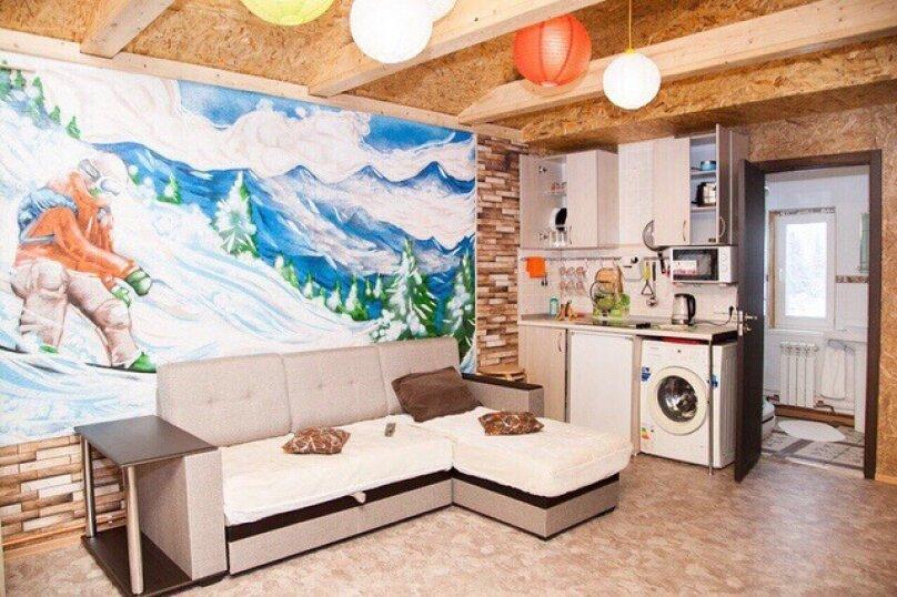 Уютный домик, 48 кв.м. на 8 человек, 3 спальни, Вторая Дачная улица, 629, Шерегеш - Фотография 15