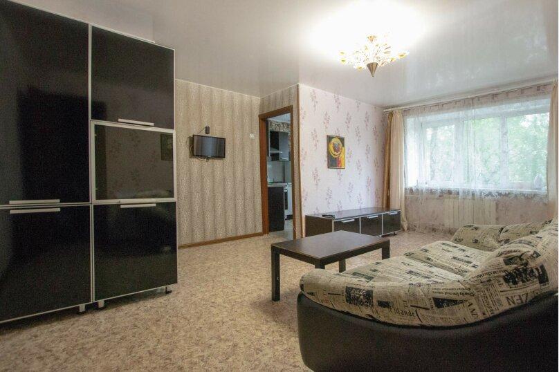 2-комн. квартира, 50 кв.м. на 4 человека, улица Мичурина, 4, Красноярск - Фотография 1