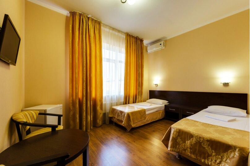 Двухместный номер с двумя односпальными кроватями, Рашпилевская улица, 301, Краснодар - Фотография 1