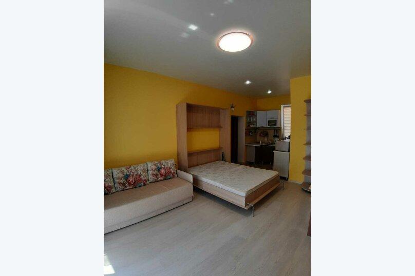 1-комн. квартира, 28 кв.м. на 4 человека, Сигнальная улица, 2Вк1, Черноморское - Фотография 6