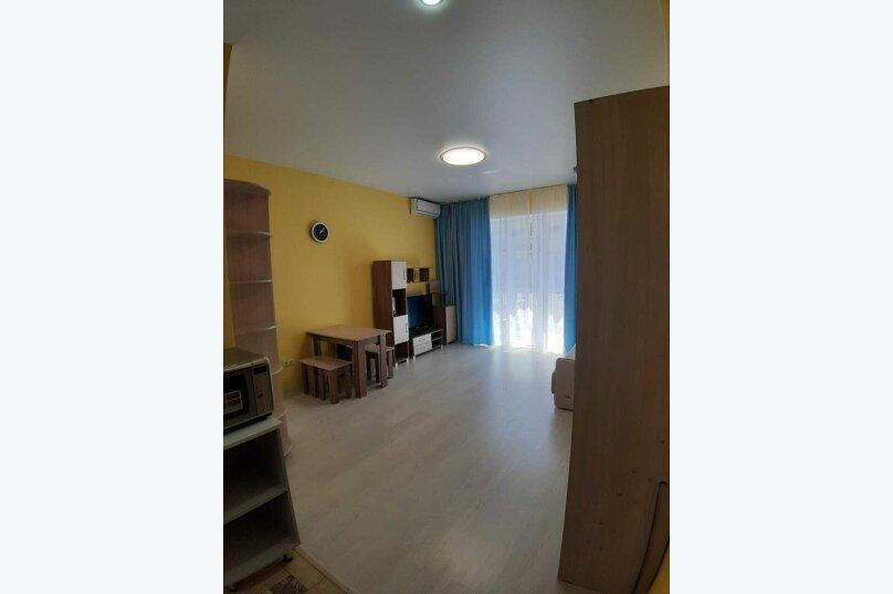 1-комн. квартира, 28 кв.м. на 4 человека, Сигнальная улица, 2Вк1, Черноморское - Фотография 11
