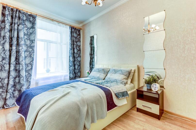 3-комн. квартира, 90 кв.м. на 6 человек, Малая Московская улица, 4, Санкт-Петербург - Фотография 1
