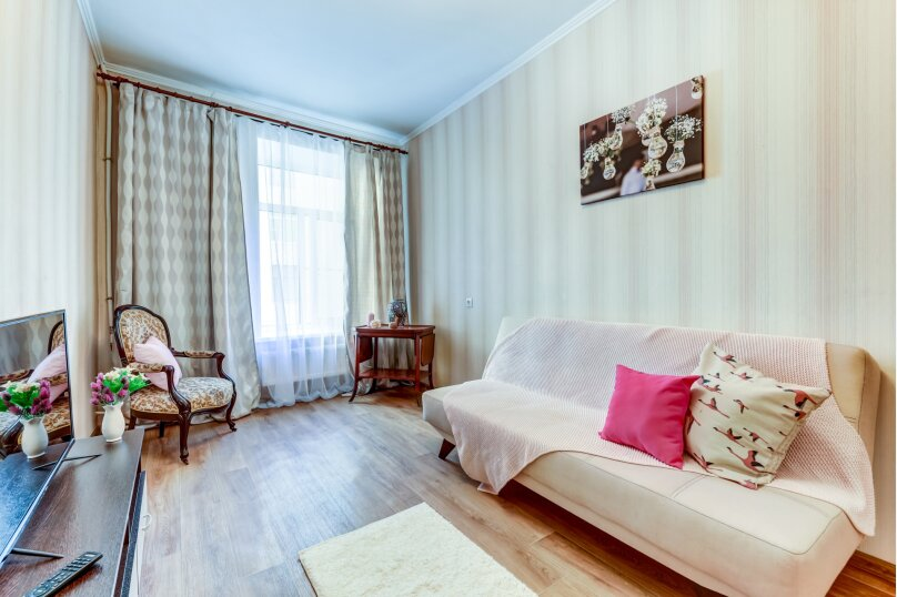 3-комн. квартира, 90 кв.м. на 6 человек, Малая Московская улица, 4, Санкт-Петербург - Фотография 8