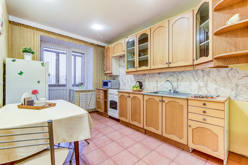 1-комн. квартира, 40 кв.м. на 3 человека, улица Савушкина, 128к1, Санкт-Петербург - Фотография 2