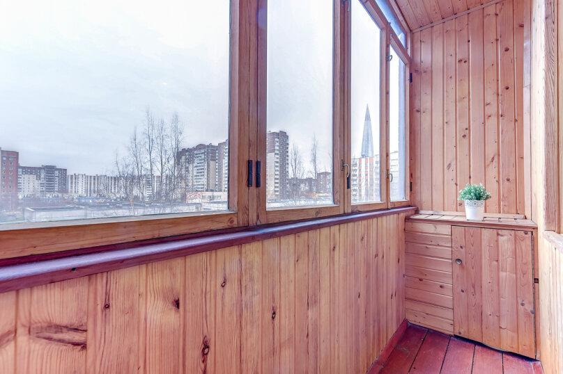 1-комн. квартира, 40 кв.м. на 3 человека, улица Савушкина, 128к1, Санкт-Петербург - Фотография 7