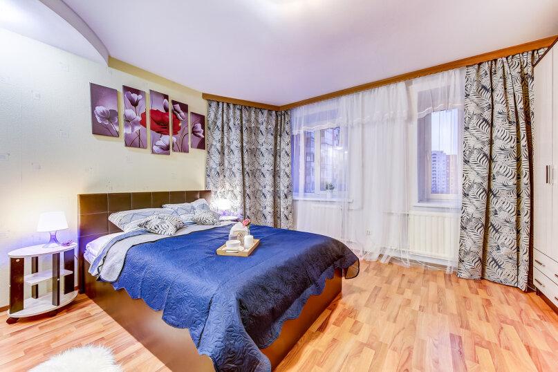 1-комн. квартира, 40 кв.м. на 3 человека, улица Савушкина, 128к1, Санкт-Петербург - Фотография 9