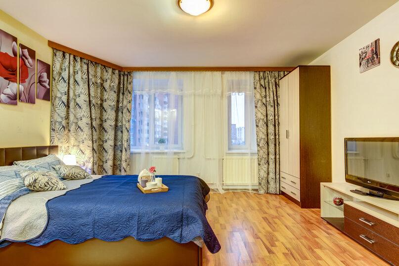 1-комн. квартира, 40 кв.м. на 3 человека, улица Савушкина, 128к1, Санкт-Петербург - Фотография 12
