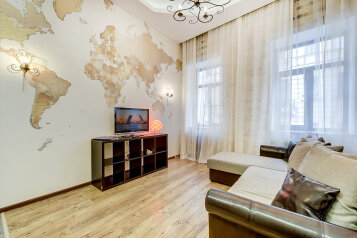 2-комн. квартира, 60 кв.м. на 4 человека, переулок Гривцова, 26, Санкт-Петербург - Фотография 3