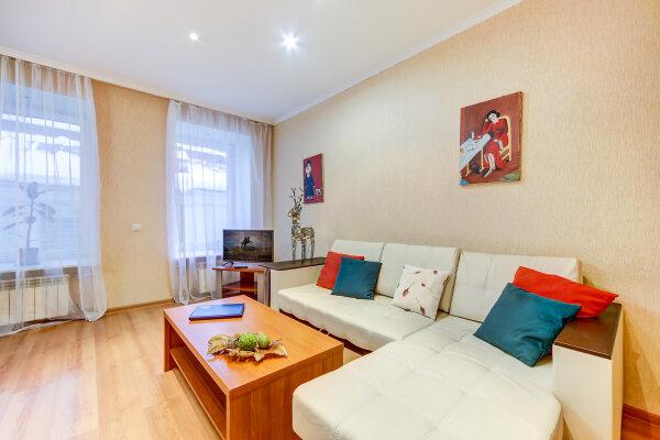 3-комн. квартира, 90 кв.м. на 6 человек, Спасский переулок, 4, Санкт-Петербург - Фотография 1