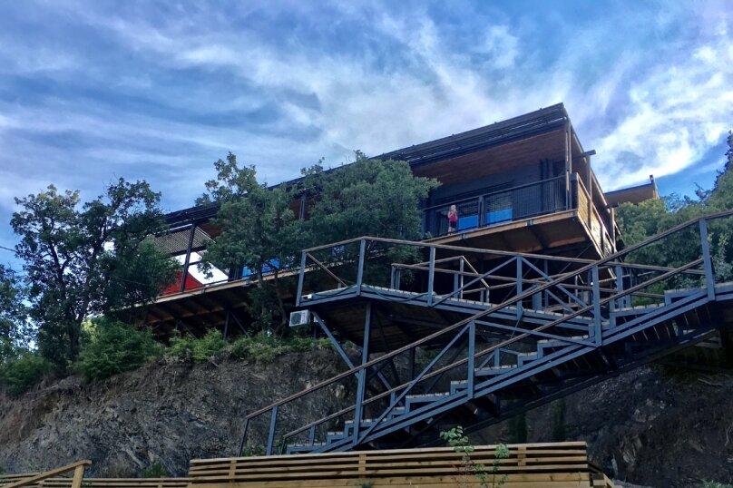 Дом у моря Крым Алушта, 100 кв.м. на 6 человек, 3 спальни, переулок Курортный, 18, Алушта - Фотография 22