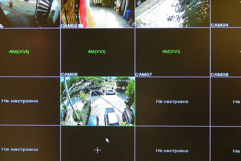 """4-х мест. 2-комнат. номера """"Запад"""" и """"Восток"""" с душем/туалетом в номере, видом на Море , а также отдельной кухонной комнатой и террасой на этаже, 3 этаж, ВИНТОВАЯ лестница, Набережная, 16, поселок Приморский, Феодосия - Фотография 11"""
