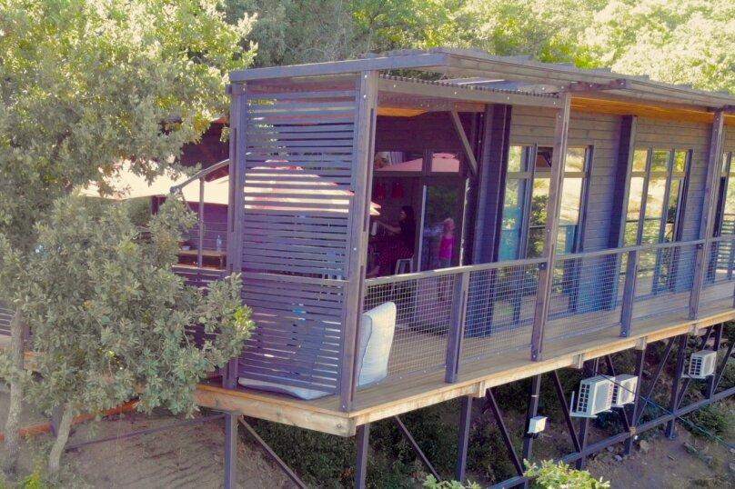 Дом у моря Крым Алушта, 100 кв.м. на 6 человек, 3 спальни, переулок Курортный, 18, Алушта - Фотография 23