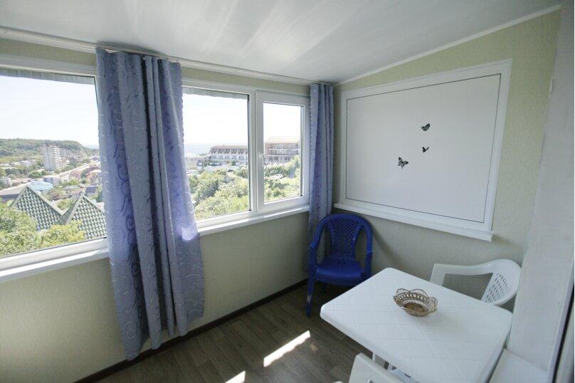 Домик, 25 кв.м. на 4 человека, 1 спальня, 2-й микрорайон, 1, Ольгинка - Фотография 11