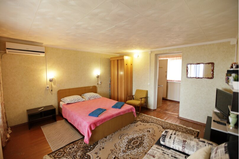 Домик, 25 кв.м. на 4 человека, 1 спальня, 2-й микрорайон, 1, Ольгинка - Фотография 14