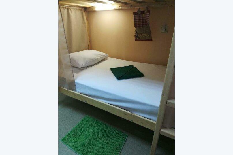 Кровать в общем 6-местном номере для женщин, Дачная улица, 19/1, Новосибирск - Фотография 1