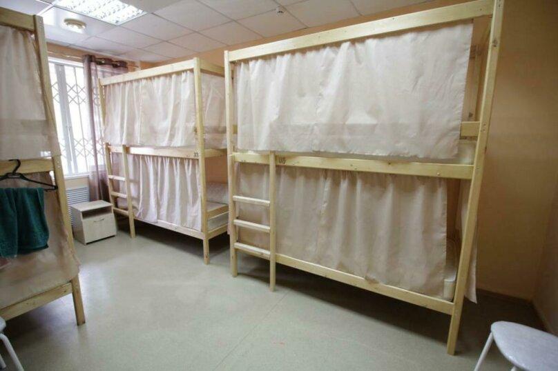 Кровать в общем номере для мужчин 1, Дачная улица, 19/1, Новосибирск - Фотография 1