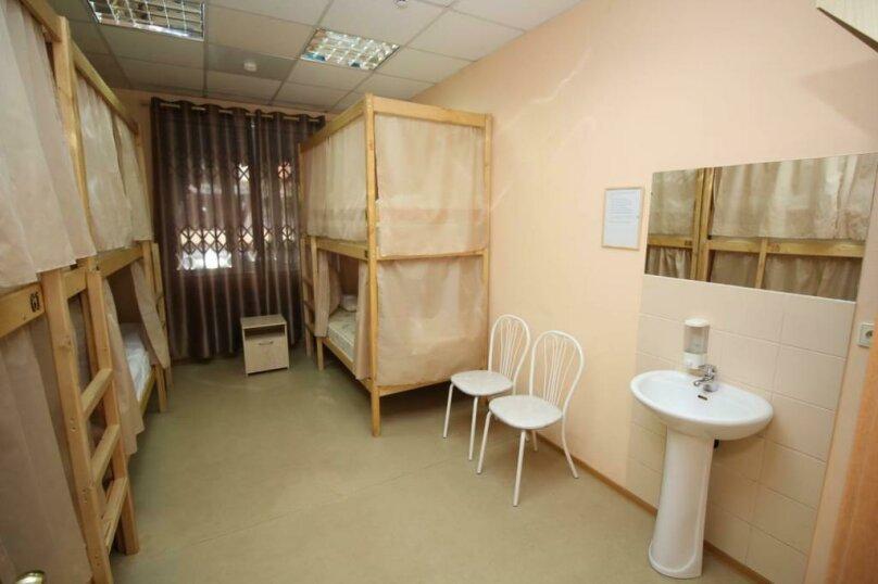 Кровать в общем номере для мужчин 2, Дачная улица, 19/1, Новосибирск - Фотография 1