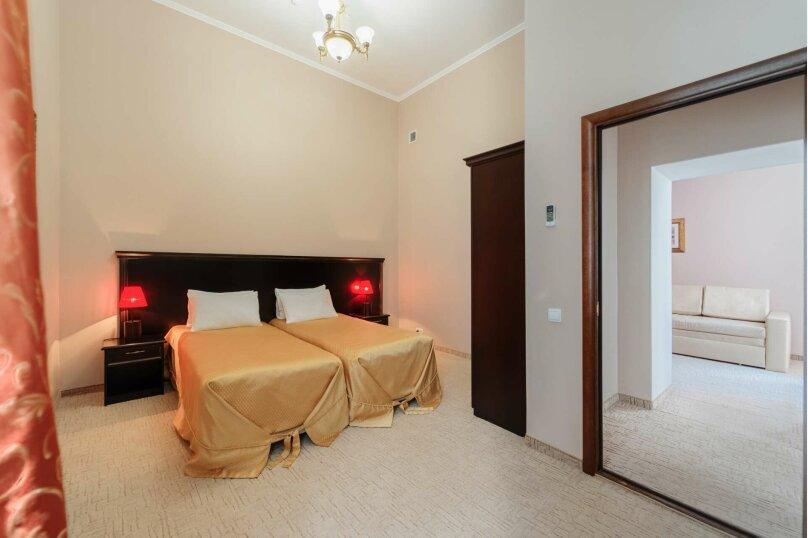 Супер люкс трехкомнатный с 1 двуспальной кроватью и 2 односпальными кроватями , Советская улица, 78, Симеиз - Фотография 4