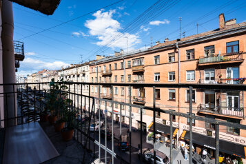 3-комн. квартира, 68 кв.м. на 6 человек, улица Рубинштейна, 7, Санкт-Петербург - Фотография 2
