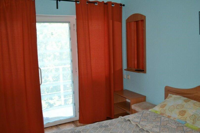Двухместный номер с 1 кроватью и балконом, улица Ленина, 144Д, Коктебель - Фотография 1