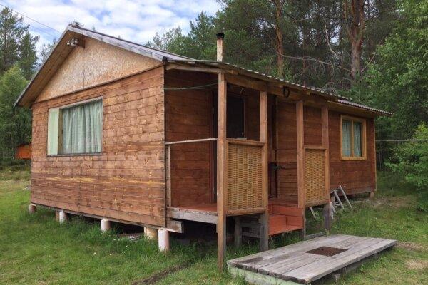 Лесной Домик на берегу оз. Лексозеро, 35 кв.м. на 4 человека, 1 спальня, Гафостров, 5, Муезерский - Фотография 1