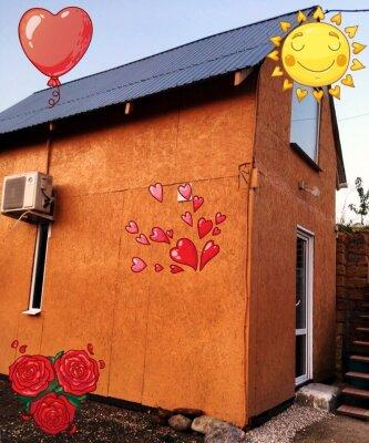 Гостевой домик , 40 кв.м. на 4 человека, 1 спальня, мкр Юго-Западный, Киевская, 34, Судак - Фотография 1