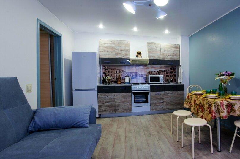 1-комн. квартира, 50 кв.м. на 6 человек, Солнечный проезд, 8к2, Тюмень - Фотография 6