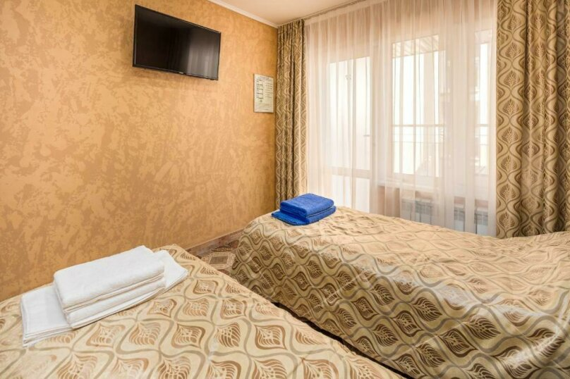 Стандартный двухместный номер с 2 отдельными кроватями, Черноморский переулок, 6, Дивноморское - Фотография 1