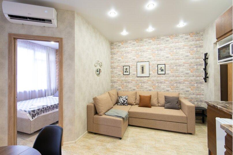 2-комн. квартира, 35 кв.м. на 4 человека, улица ГЭС, 5, Красная Поляна - Фотография 6