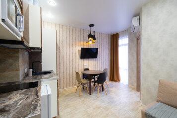 2-комн. квартира, 35 кв.м. на 4 человека, улица ГЭС, 5, Красная Поляна - Фотография 4