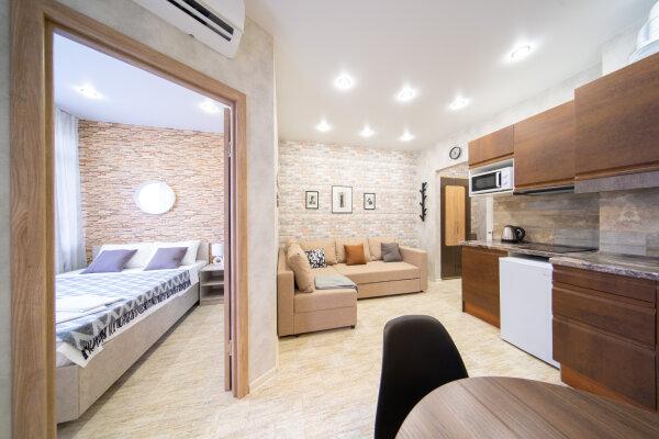 2-комн. квартира, 35 кв.м. на 4 человека, улица ГЭС, 5, Красная Поляна - Фотография 1