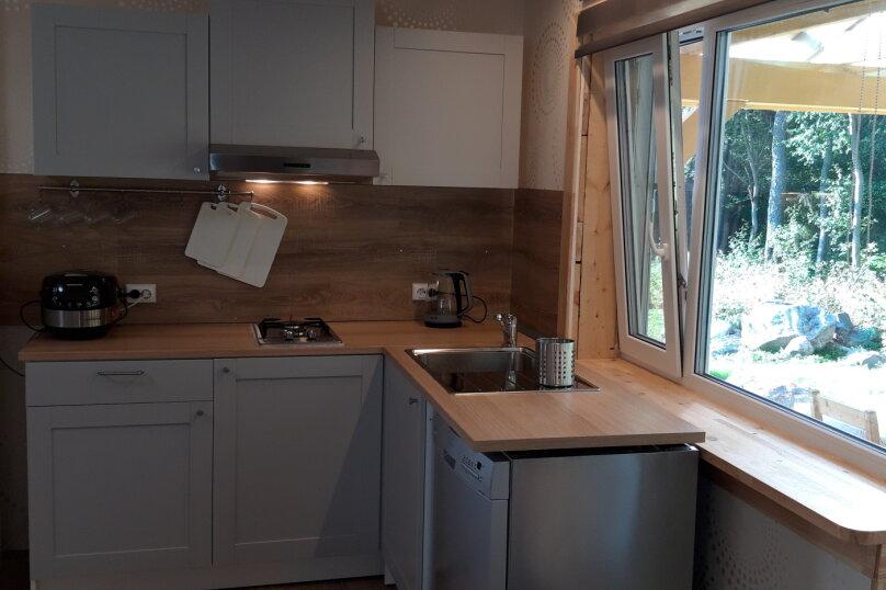 Дом с выходом в лес , 35 кв.м. на 4 человека, 1 спальня, Западная, 2, Сортавала - Фотография 10